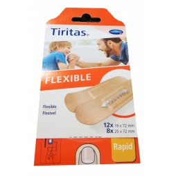 Tiritas Tela Flexible