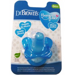 Dr Brown´s Chupete Silicona Azul +0 1ud