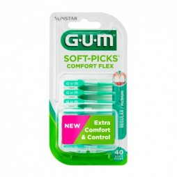 Gum Soft-Picks Comfort Flex Regular 40ud