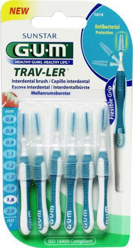 Gum Interdental Trav-Ler 1.6 Mm, Iso 5