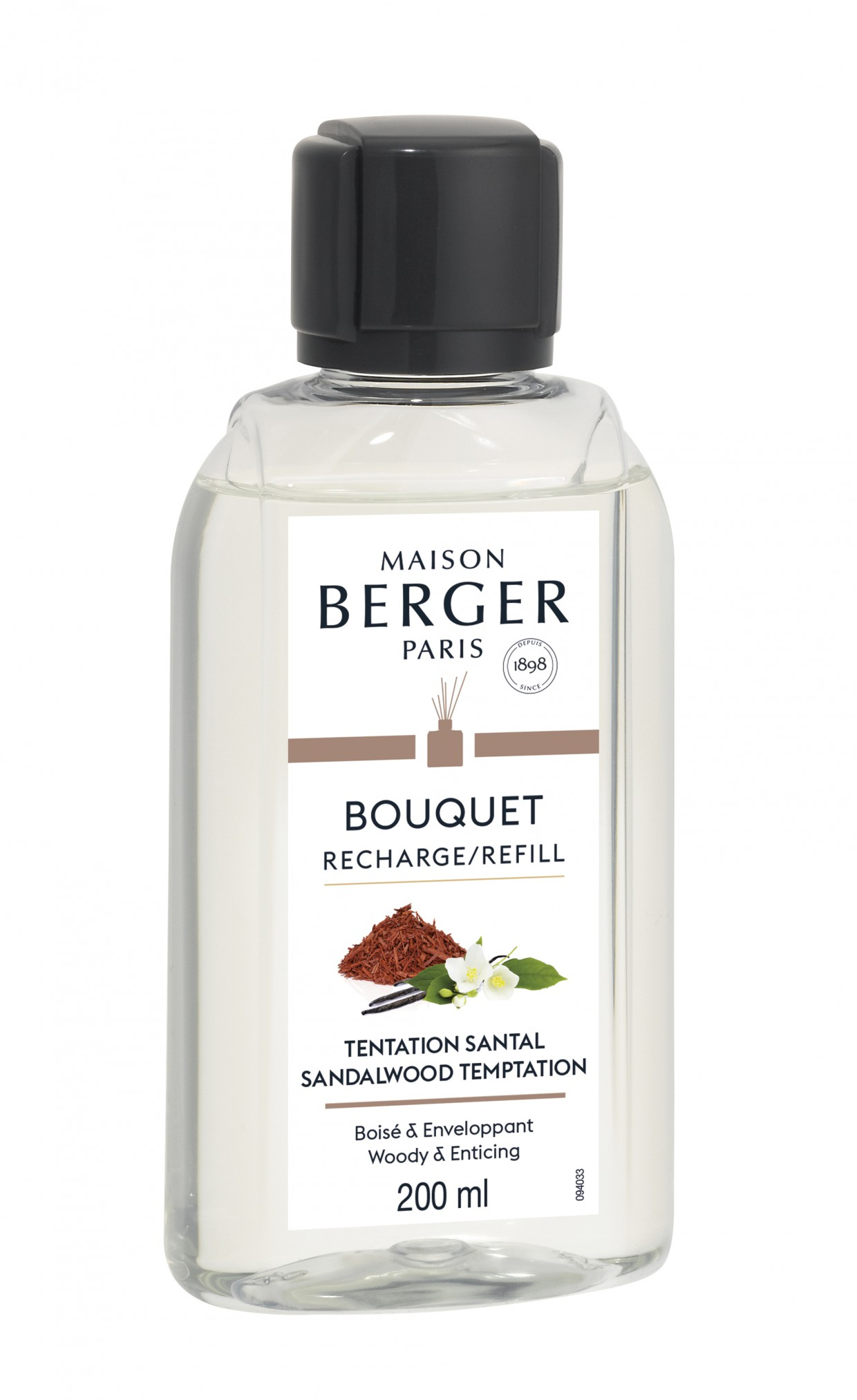 Berger Recambio BQT Tentation Santal 200ml